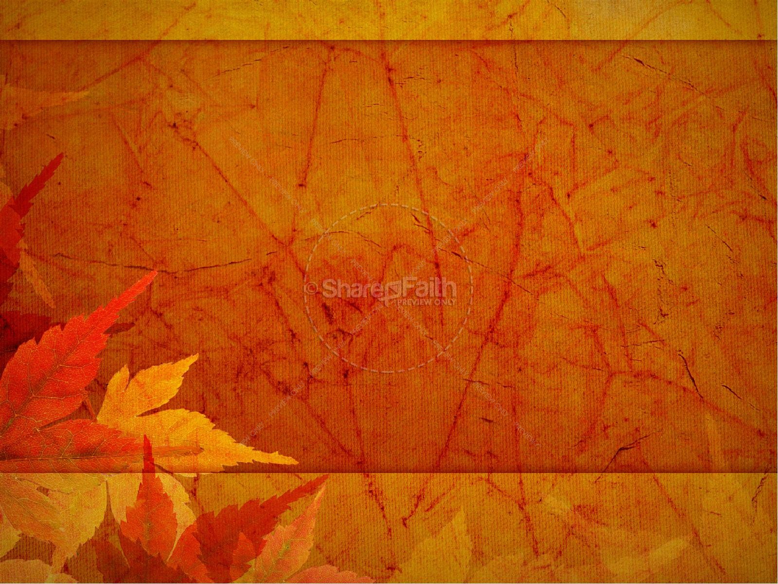 Thanksgiving Joy PowerPoint Sermon Fall Thanksgiving