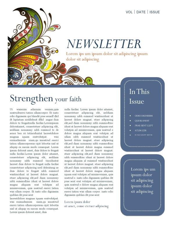 guitar newsletter template template newsletter templates