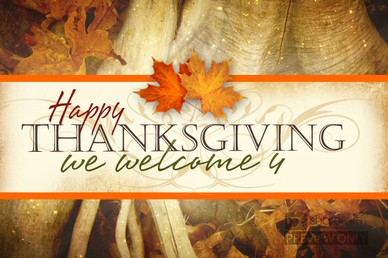 Thanksgiving Photo Welcome Video Loop