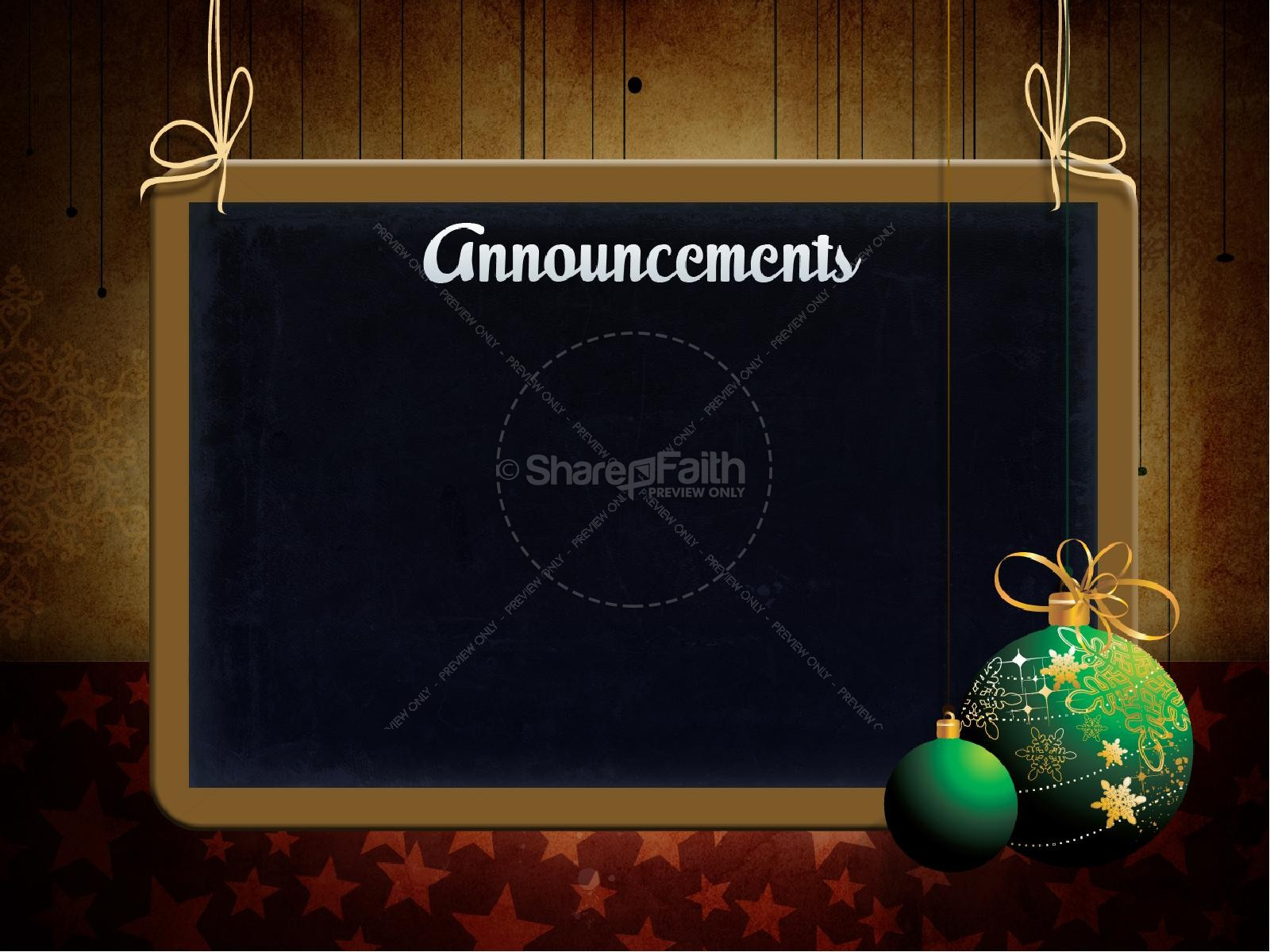 Christmas Decorations PowerPoint Template | slide 5