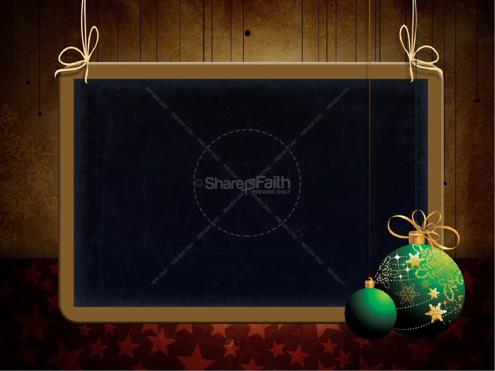 Christmas Decorations PowerPoint Template | slide 6