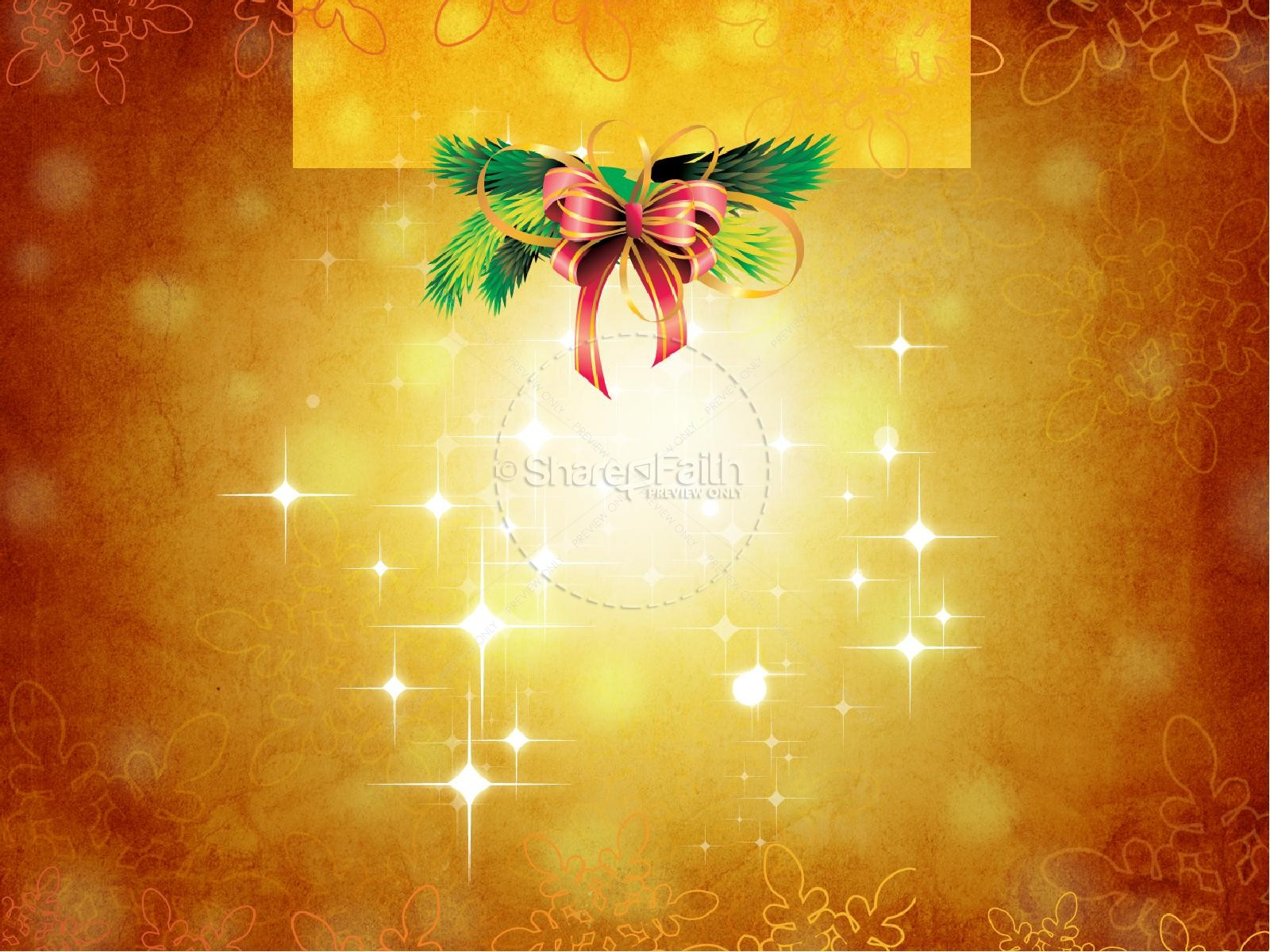 christ in christmas powerpoint template | christmas powerpoints, Modern powerpoint