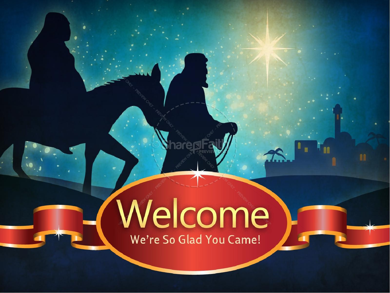 The Christmas Story PowerPoint