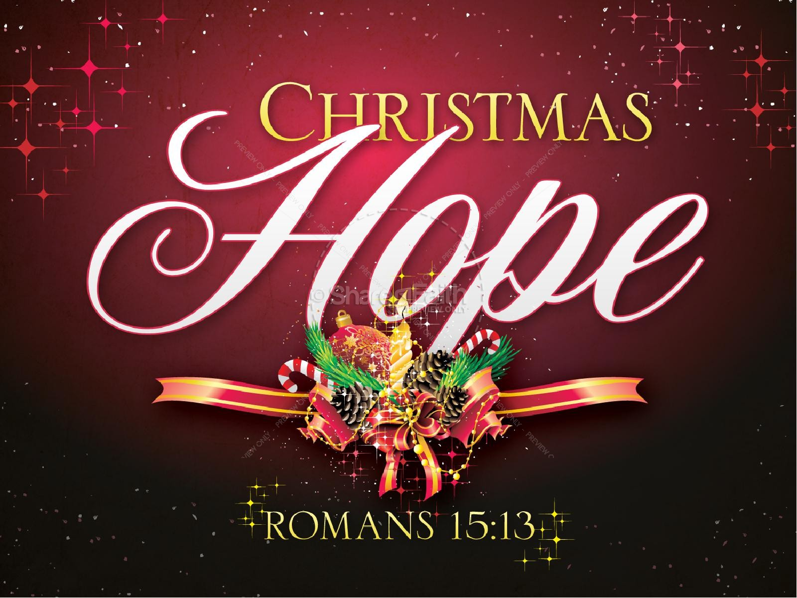 Christmas Hope PowerPoint