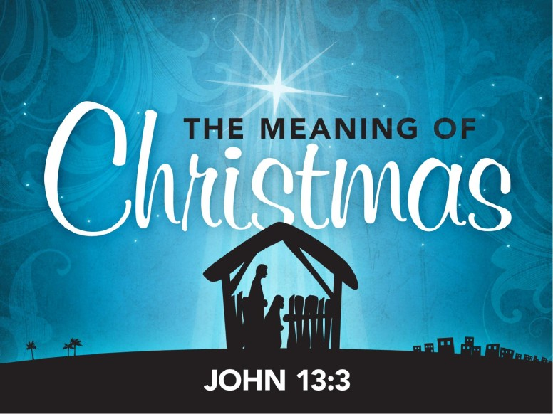 The Meaning of Christmas PowerPoint