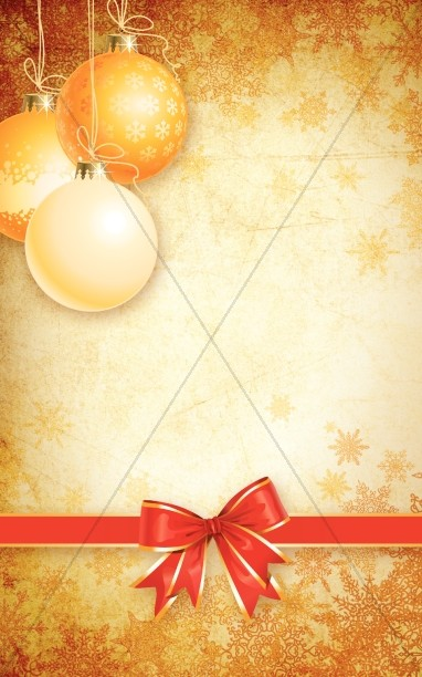 Christmas Decoration Bulletin Cover
