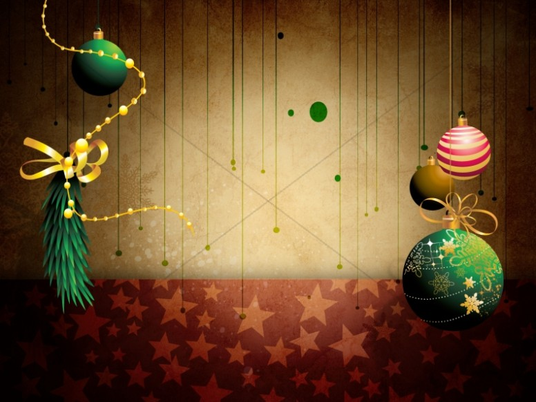Christmas Ornaments Backgrounds