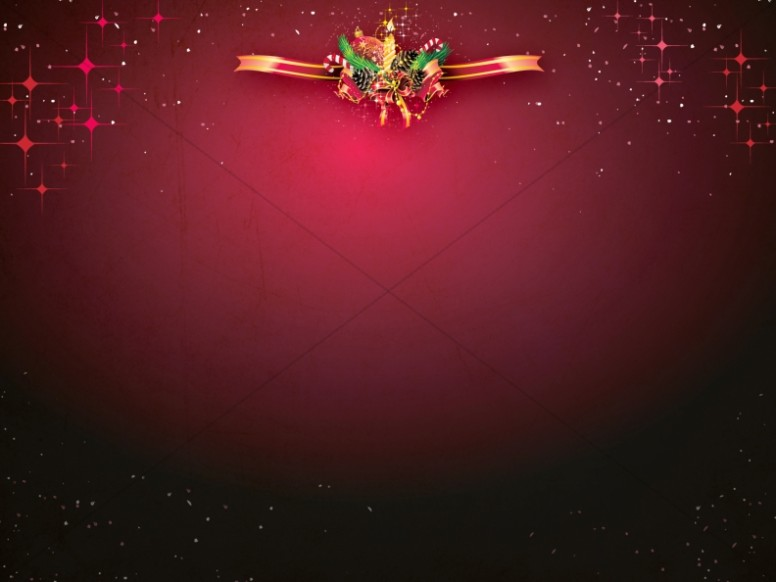 Christmas Wreath Worship Background