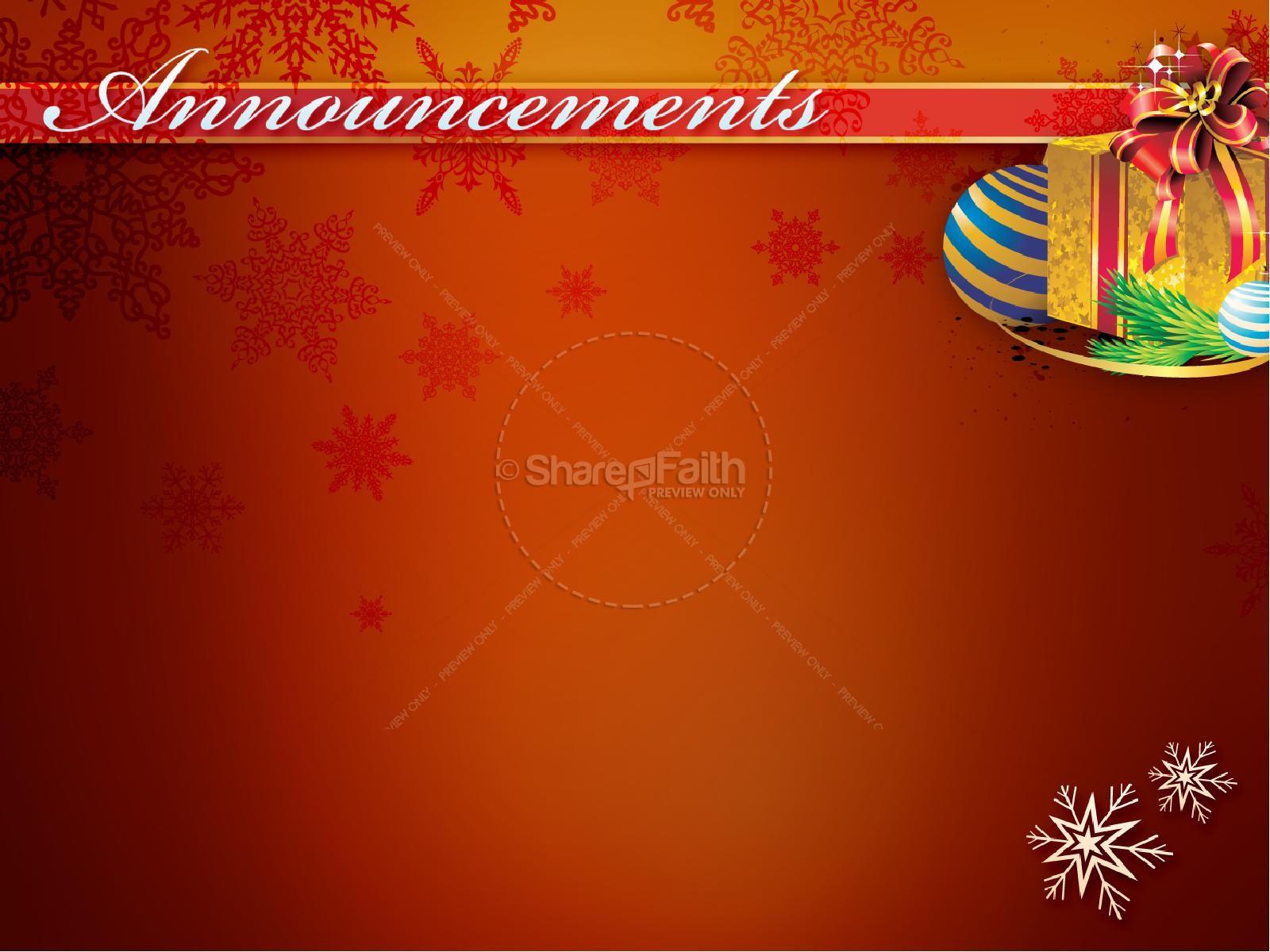 Christmas Musical PowerPoint Sermon | slide 3