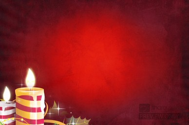 Candle Christmas Motion Backgrounds
