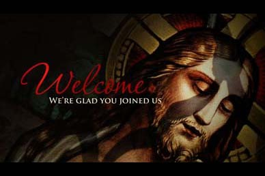 Welcome Jesus Video Loop