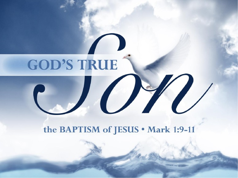 baptism of the lord jesus powerpoint slideshow