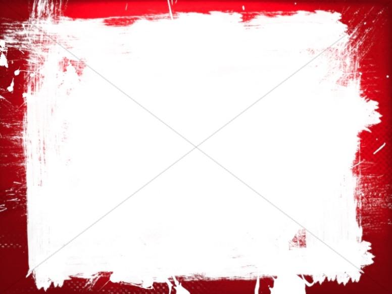 Grunge Border Worship Background
