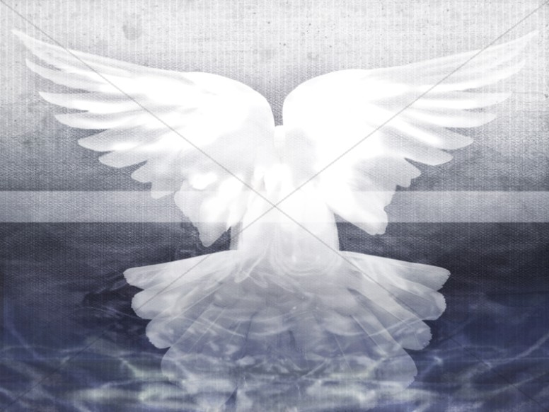 Holy Spirit Dove Worship Background