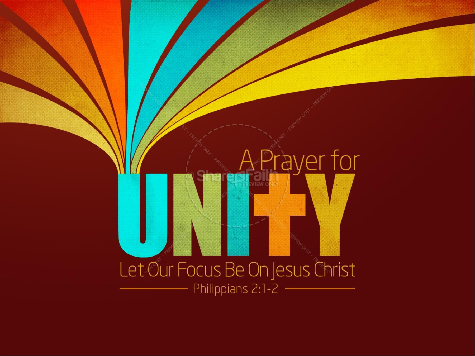 Christian Unity PowerPoint Template | PowerPoint Sermons