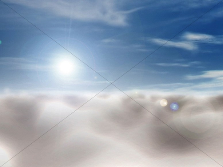 Sky Worship Background