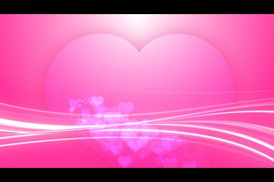 Pink Hearts Valentine Worship Video Loop