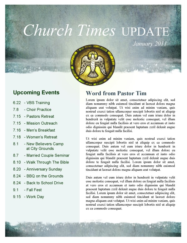 Holy Spirit Church Newsletter