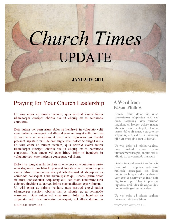 Spiritual Warfare Church Newsletter