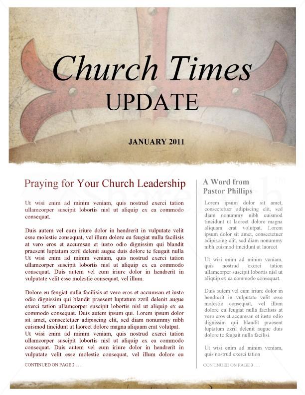 Spiritual Warfare Church Newsletter