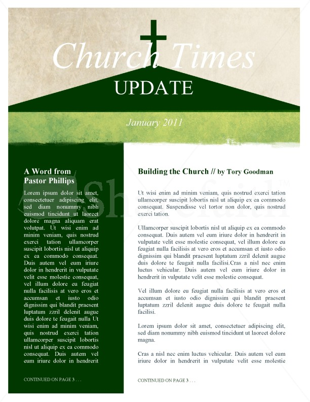 the church newsletter template template newsletter templates