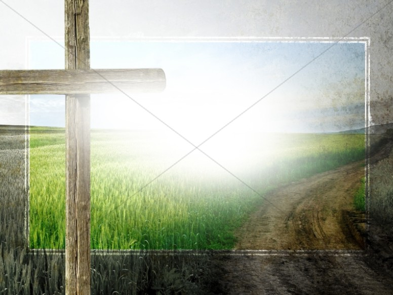 The Cross of Christ Worship Background