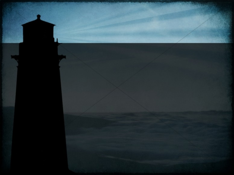 Lighthouse Worship Background