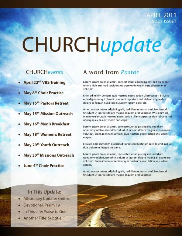 Pathway Church Newsletter Template
