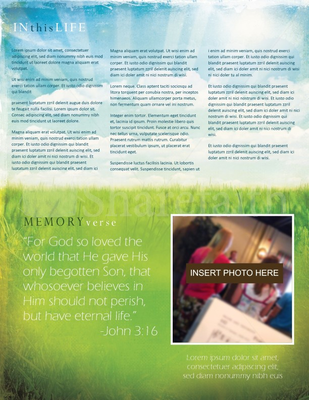Easter Church Newsletter | page 3