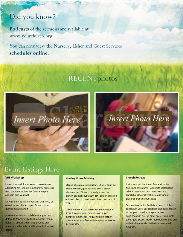 Easter Church Newsletter | page 4