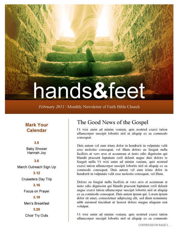 Resurrection of Christ Church Newsletter