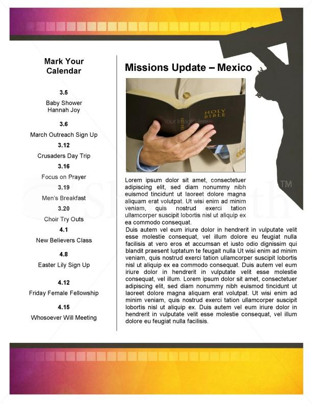 Jesus Cross Church Newsletter