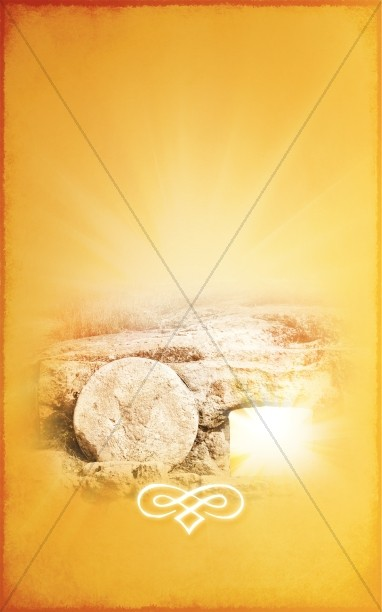 Empty Tomb Easter Bulletin Cover