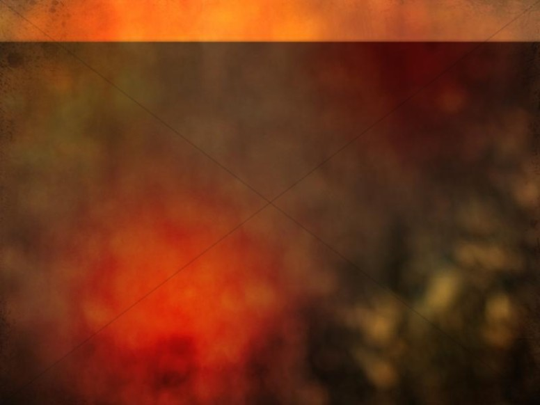 Orange Abstract Worship Background