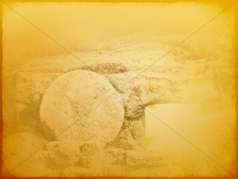 Easter Tomb Worship Background