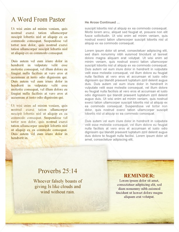 Resurrection Church Newsletter | page 2