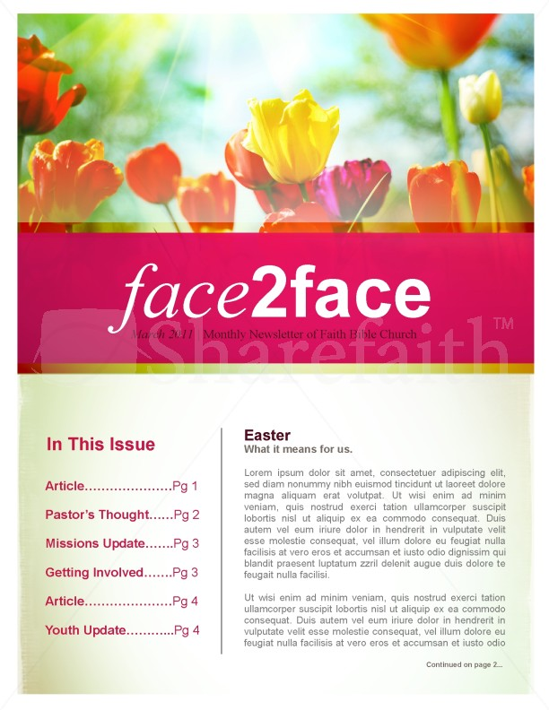 Flowers Church Newsletter