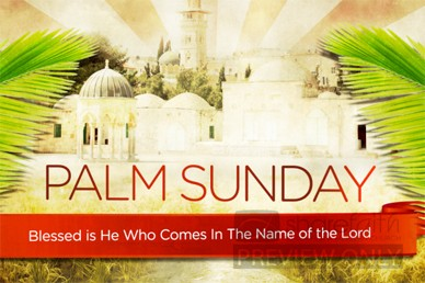 Palm Sunday Church Video