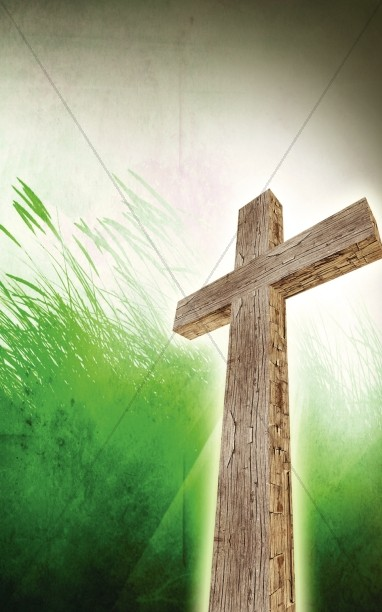 Rugged Cross Church Bulletin Cover