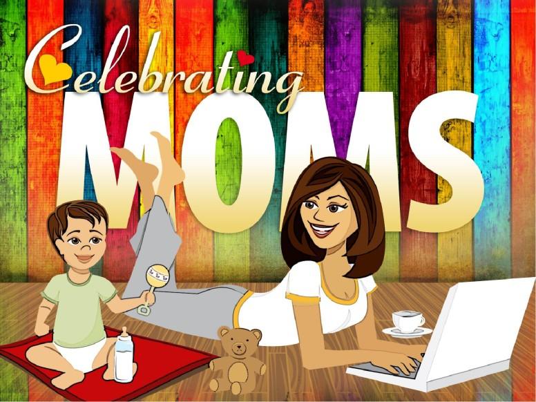 Celebrating Moms PowerPoint