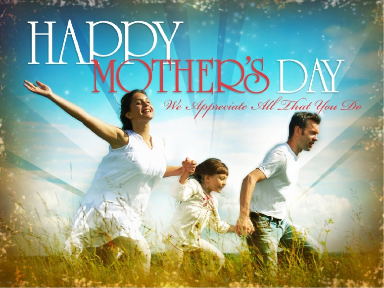 Happy Mother's Day PowerPoint Template