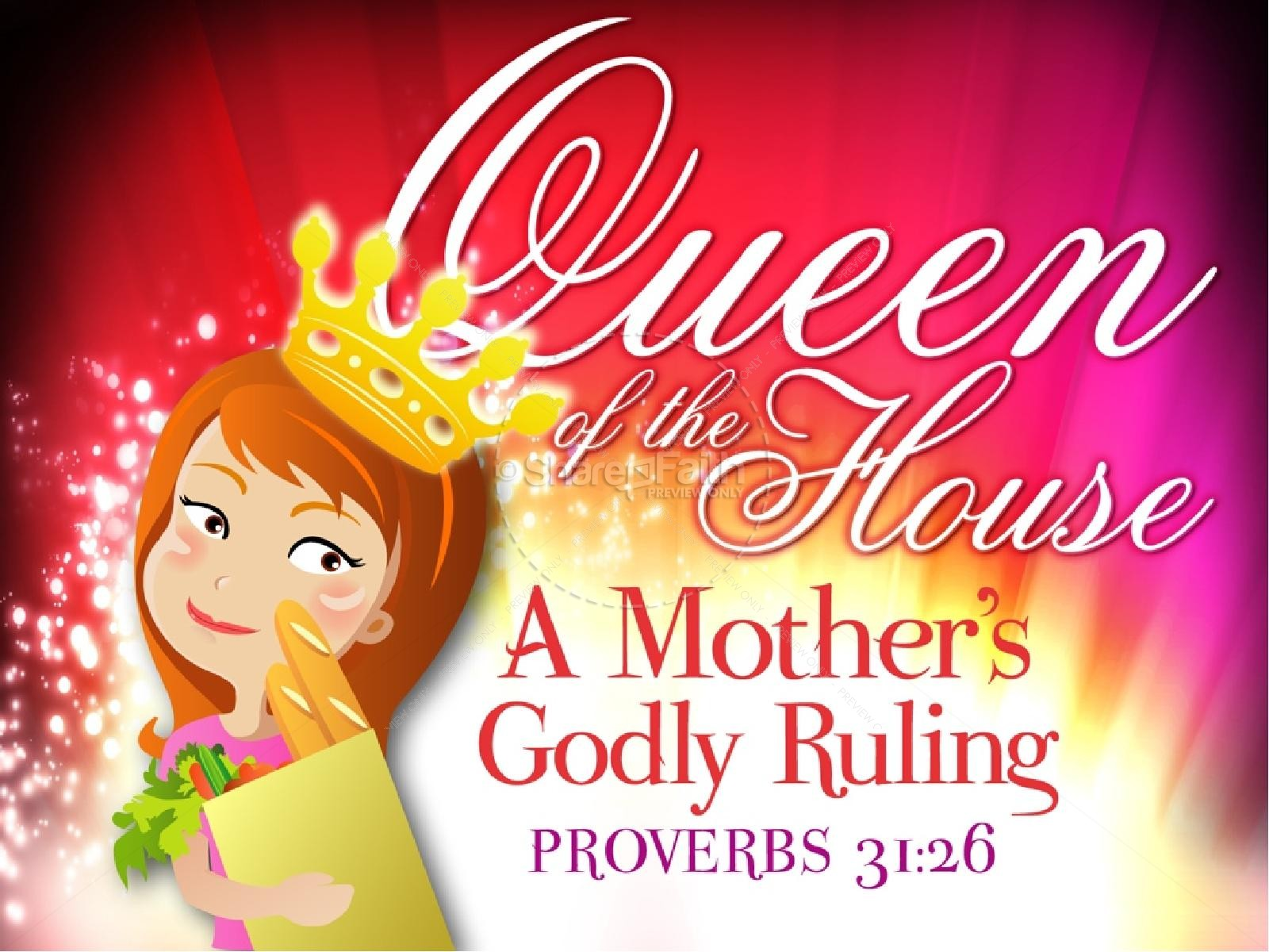 Queen of the House Church PowerPoint
