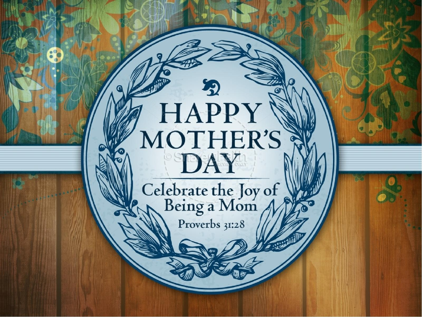 Joy of Motherhood PowerPoint Sermon | slide 1