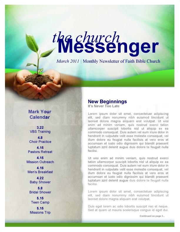 New Beginning Church Newsletter