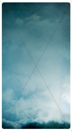Cloudy Sky Banner Widget