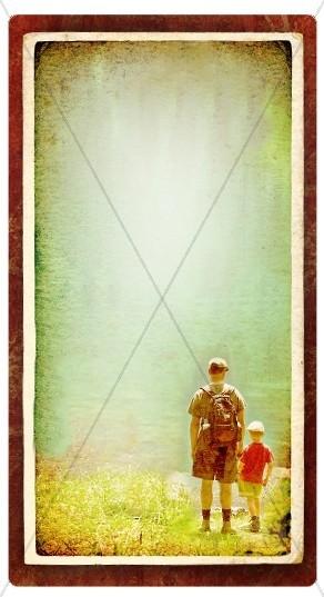 Father's Day Banner Widget