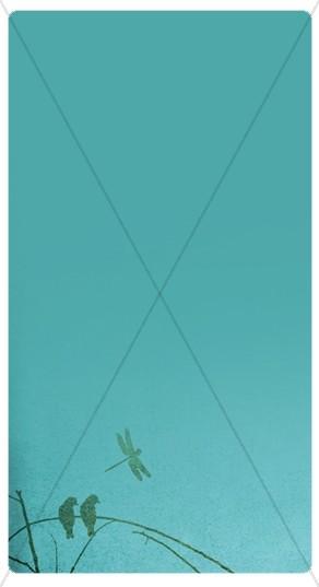 Birds Banner Widget