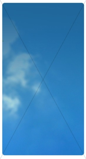 Blue Sky Banner Widget