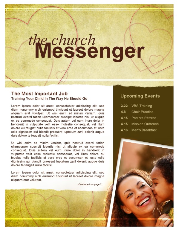 Moms Church Newsletter