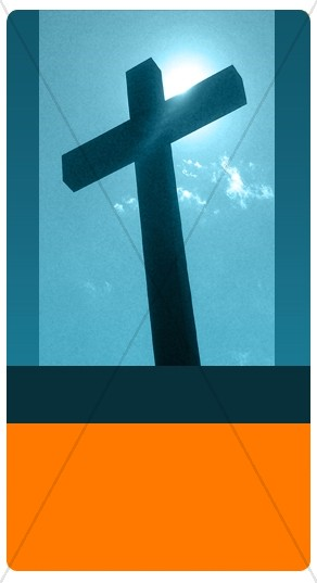 Jesus Cross Banner Widget